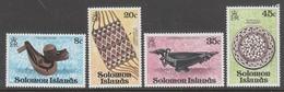 SERIE NEUVE DES ILES SALOMON - ARTISANAT N° Y&T 367 A 370 - Other