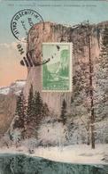 Carte Maximum - 1827 - El Capitan, Yosemite Valley, California In Winter - United States