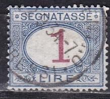 Regno D'Italia, 1890/94 - 1 Lira Segnatasse - Nr.27 Usato° - 1878-00 Humbert I.