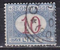 Regno D'Italia, 1890-94 - 10 Lire Segnatasse - Nr.28 Usato° - 1878-00 Humbert I.