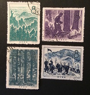 CHINE 1958 YT N°1171 à 1174 - Used Stamps