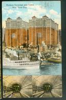 Hudson Terminal And Tubes - Hudson River