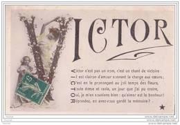 Prénom -  VICTOR - Nombres