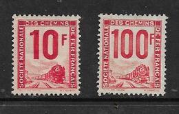 France  Colis Postaux De 1944/47 N°10 + 23A Neufs Sans Gomme Cote 50€ - Mint/Hinged