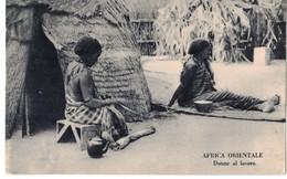 AFRICA ORIENTALE - DONNE AL LAVORO - Somalia