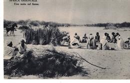 AFRICA ORIENTALE - UNA SOSTA SUL FIUME - Somalia