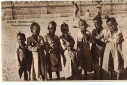 AFRICA ORIENTALE - SCUGNIZZI ERITREI - Eritrea