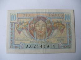 10 F TRESOR FRANCAIS - Trésor
