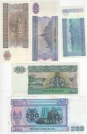 B12 - BIRMANIE Lot De 5 Billets - Myanmar