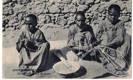 AFRICA ORIENTALE - PICCOLI FABBRICANTI DI STUOIE - Eritrea