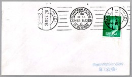 Rodillo REFERENDUM NACIONAL - DIA DE LA CONSTITUCION - 6 DE DICIEMBRE. Vitoria, Pais Vasco, 1978 - 1931-Hoy: 2ª República - ... Juan Carlos I