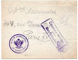 Espagne : Lettre Avec Censure (censura) Militaire De San Sebastian - Cachet 'Tercio De Zumalacarregui' - 1931-Aujourd'hui: II. République - ....Juan Carlos I