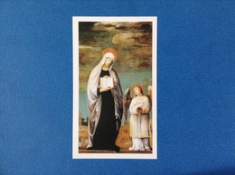 Santino Holy Card Santa Francesca Romana - Santini
