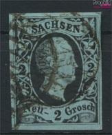 Sachsen 5 Pracht Gestempelt 1851 Friedrich August (9277019 - Saxe