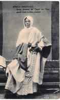 AFRICA ORIENTALE - SPOSA ABISSINA DEL TIGRAI CON L'HANGAREH ( LETTO NUZIALE) - Eritrea