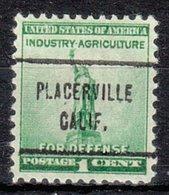 USA Precancel Vorausentwertung Preo, Locals California, Placerville 713 - Vereinigte Staaten