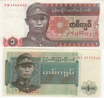 B15 - BIRMANIE Lot De 2 Billets - Myanmar