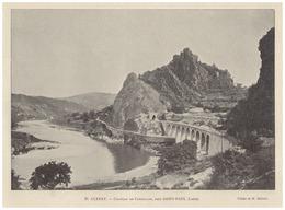 1896 - Iconographie - Saint-Paul-en-Cornillon (Loire) - Le Château - FRANCO DE PORT - Vecchi Documenti