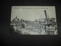 Selzaete  Zelzaete  Zelzate   Nouveau Pont De Chemin De Fer  Nieuwe Ijzerenwegbrug - Zelzate