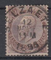 BELGIË - OPB - 1884/91 - Nr 49 (SELZAETE) - 1884-1891 Léopold II
