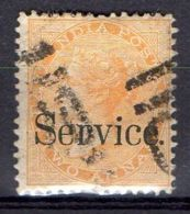 INDE ( SERVICE ) : Y&T  N° 20  TIMBRE  BIEN  OBLITERE . - India (...-1947)