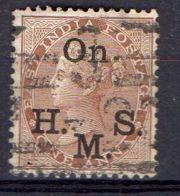 INDE ( SERVICE ) : Y&T  N° 25  TIMBRE  BIEN  OBLITERE . - 1858-79 Compañia Británica Y Gobierno De La Reina