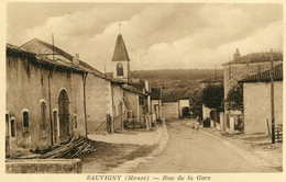 SAUVIGNY  =  Rue De La Gare  361 - Autres Communes