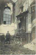 VISE : Intérieur De L'Eglise - RARE VARIANTE COLORISEE - WWI - Wezet