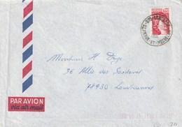 SAINT PIERRE ET MIQUELON Lettre Période Timbres De France 1981 LANGLADE - St.Pierre Et Miquelon