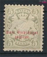 Bavière P5 Avec Charnière 1876 Etat Emblem (9277078 (9277078 - Beieren