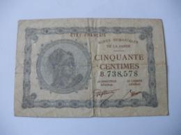 50 CT MINES DOMANIALES DE LA  SARRE TYPE 1920 SERIE B - Treasury