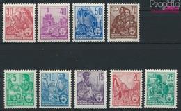 DDR 577A-585A (complète.Edition.) Dentelure Loin,quelque Chose Irrégulière Neuf Avec Gomme Originale 1957 P (9277225 - [6] Repubblica Democratica