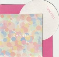 CHANEL  CHANCE  Carte  + Enveloppe - Cartes Parfumées