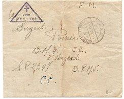Lettre De 1943 - CaD 'Poste Aux Armées BPM 5 / FFL' - Censure 2012 - Postmark Collection (Covers)