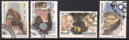Belgien  (1992)  Mi.Nr.  2491 - 2494  Gest. / Used  (9af37) - Gebraucht