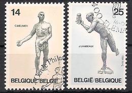 Belgien  (1991)  Mi.Nr.  2452 + 2453  Gest. / Used  (9af41) - Belgium