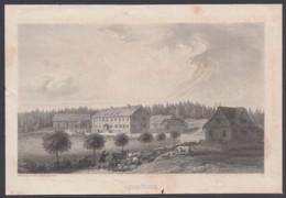 """""""Schmücke"""", Kupferstich, Herausgeber : """"Bibliographisches Institut Hildburghausen"""" - Oberhof"""