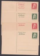 """P 87/90 """"Luitpold"""", Einzel- Und Doppelkarten, Ungebraucht - Bayern"""