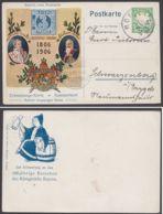 """PP 15 C 123/01 """"Bayerns Erste Briefmarke"""", 1906 Gelaufen - Bayern"""
