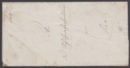 """""""Rodach"""", Orts-Dienstbrief Der Justiz Mit Inhalt, 1853 - Thurn Und Taxis"""