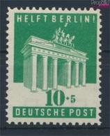 Bizonale (Allied Cast) 101E Dentelé 11:11,5 Neuf Avec Gomme Originale 1948 Aidez - Berlin (9280859 (9280859 - Bizone