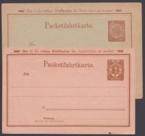 """Berlin : """"Packetfahrt"""", 2 Versch. Karten, Ungebraucht - Privatpost"""