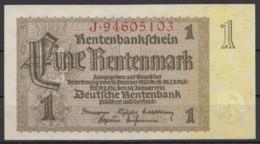 """Banknote """"1 Rentenmark"""", 1937, Bankfrisch - Deutschland"""