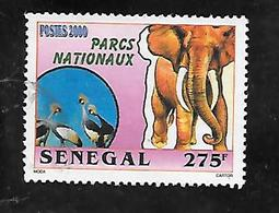 TIMBRE OBLITERE DU SENEGAL DE 2001 N° MICHEL 1948 - Senegal (1960-...)