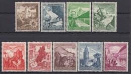 "675/83 ""WHW""-Ostmark, 1938, *, Alle Kl. Falzrest - Deutschland"