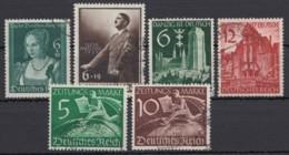 Aus 700/ Z739, 4 Versch. Komplette Ausgaben Aus 1939, Gestempelt - Deutschland