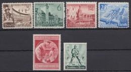 739/42, 744/5, 3 Versch. Komplette Ausgaben Aus 1940, ** - Deutschland