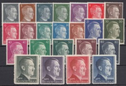 "781/802 ""Hitler"", Dauerserie Komplett, ** - Deutschland"