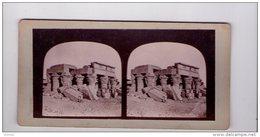 PHOTO STÉREO , Egypte, Nubie, Kam Omba , Francis Frith , Vers 1856-1859 - Photos Stéréoscopiques