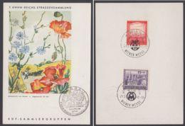 """804/5, Farbige WHW-Karte Mit Sst """"Dessau"""" - Deutschland"""